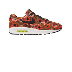 Nike Air Max 1 Premium SE Black Black Flash Crimson
