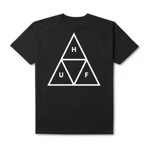 HUF Essentials TT S/S Tee Black