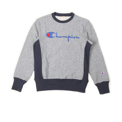 Champion Crewneck Sweatshirt Navy Heather - Kong Online - 1