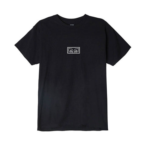Obey Jumbled Eyes Tee Black