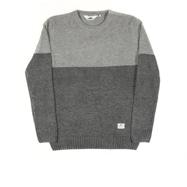 Penfield Fife Two Tone Crew Grey - Kong Online