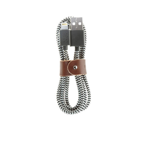 Native Union Belt Cable Lightning Zebra - Kong Online - 1