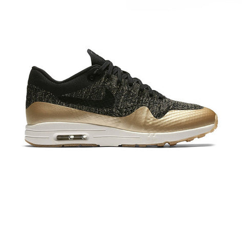 Nike W Air Max 1 Ultra 2.0 FK Mtlc Black Metallic Gold