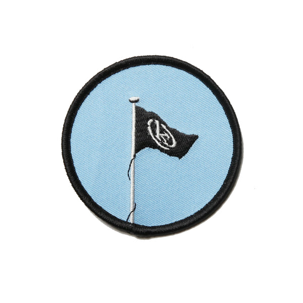 Kong Flag Patch Blue