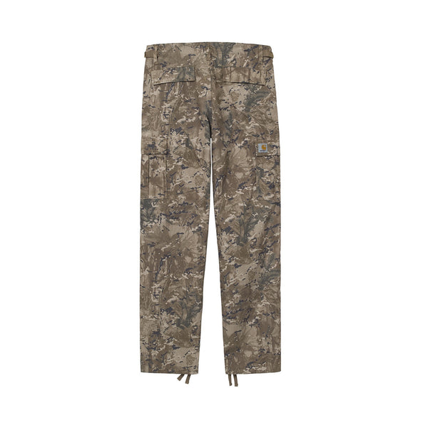Carhartt WIP Aviation Pant Camo Combi/Desert (Rinsed)