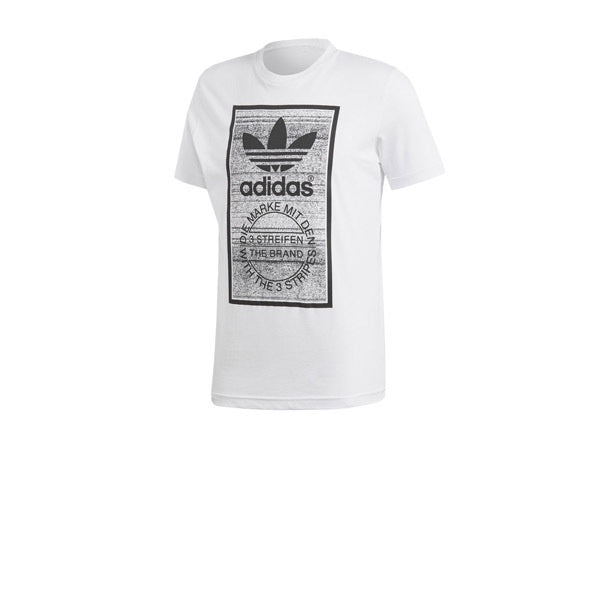 Adidas Traction Tongue Tee White