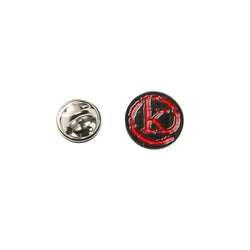 Kong Small K Logo Pin Red