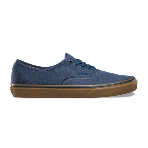 Vans Authentic Washed Canvas Blue Gum - Kong Online - 1