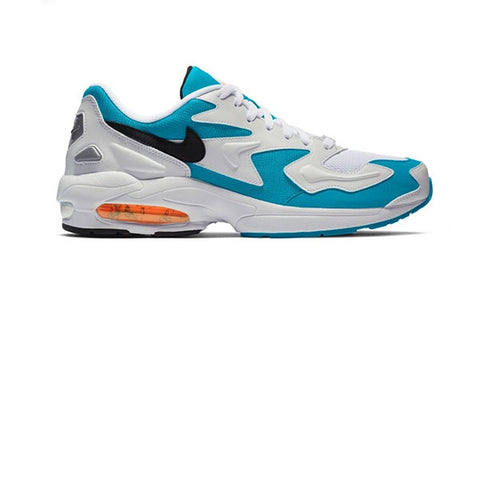 Nike Air Max 2 Light White Black Blue Lagoon Laser Orange