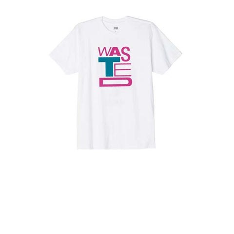 Obey Wasted Youth Tee White