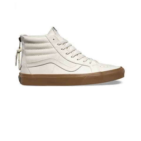 Vans Sk8-Hi Reissue Zip (Hiking) White Gum - Kong Online - 1