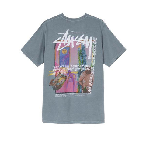 Stussy Day Dream Pig Dyed Tee Slate