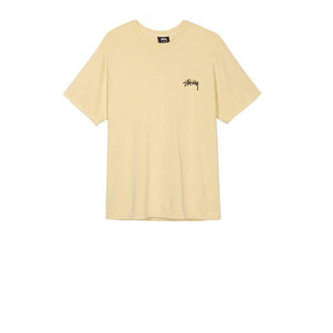 Stussy Live Clean Tee Yellow