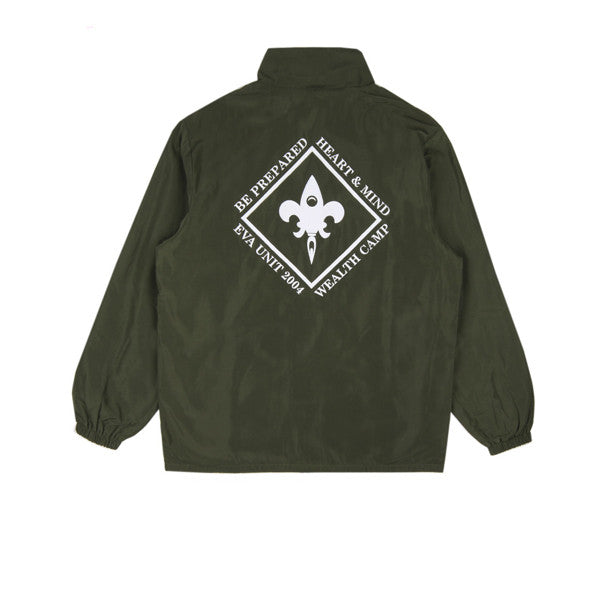BBC Wealth Camp Coach Jacket Olive - Kong Online - 2