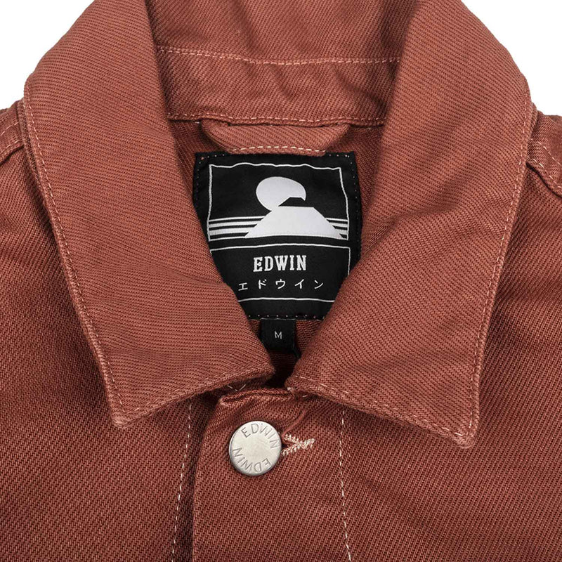 Edwin E-Classic Jacket Denim Auburn Garment Wash