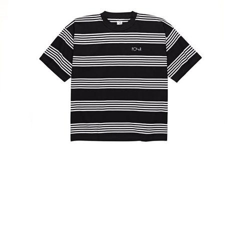 Polar Striped Surf Tee Black White