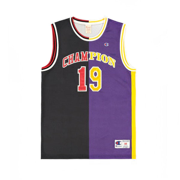 Champion Split Jersey Black Multi