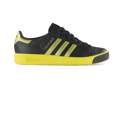 Adidas Forest Hills Black Gold Metallic EQT Yellow