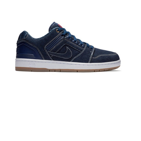 Nike SB Air Force II Low Binary Blue