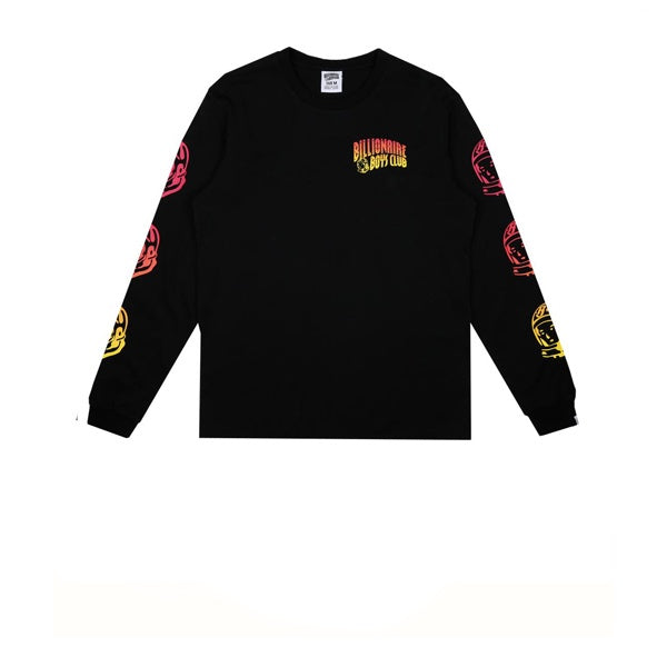 Billionaire Boys Club Gradient Helmet Print L/S T-Shirt Black