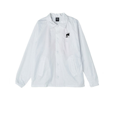 Obey Wake Up Consume Repeat Jacket White