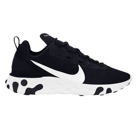 Nike React Element 55 Black White