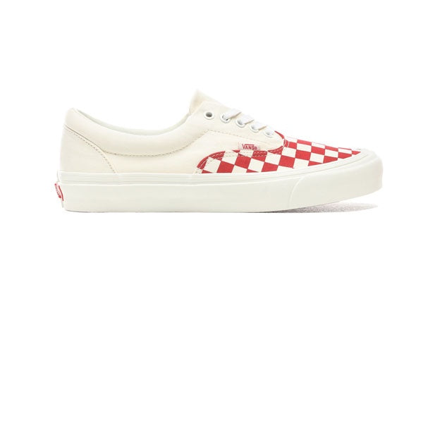 Vans Era CRFT (Podium) Checkerboard Red