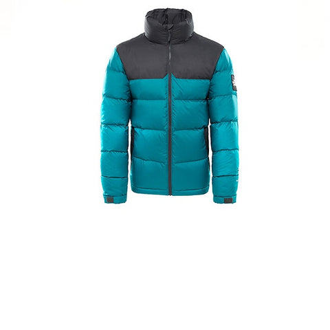 The North Face 1992 Nuptse Jacket Everglade Asphalt Grey