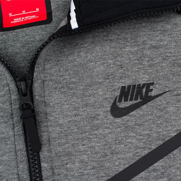 Nike Tech Fleece Wind Runner - Carbon Grey - Kong Online - 2