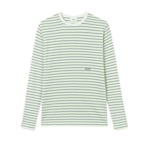 WOOD WOOD Viggo Long Sleeve Off White Stripe