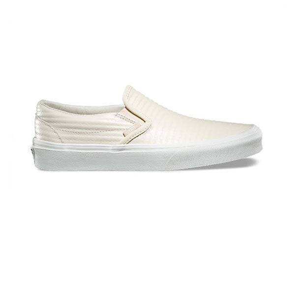 Vans Classic Slip-On (Moto Leather) Birch