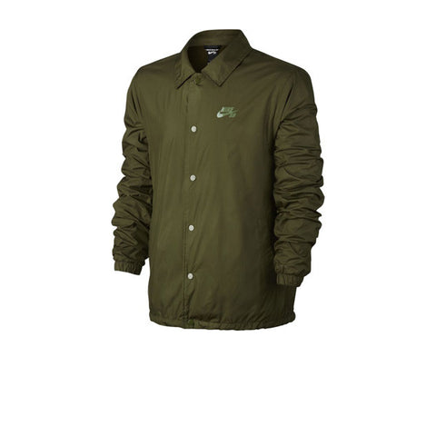 Nike SB Sheld Jacket Coaches Legion Green