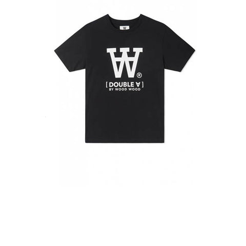 WOOD WOOD Big Ace T-Shirt Black
