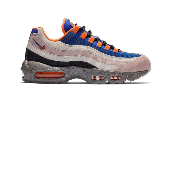 Nike Air Max 95 Champagne Safety Orange Sport Royal