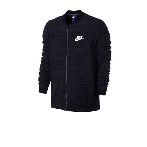 Nike NSW AV15 Jacket Knit Black White