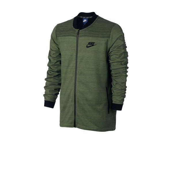 Nike NSW AV15 Jacket Knit Palm Green Black