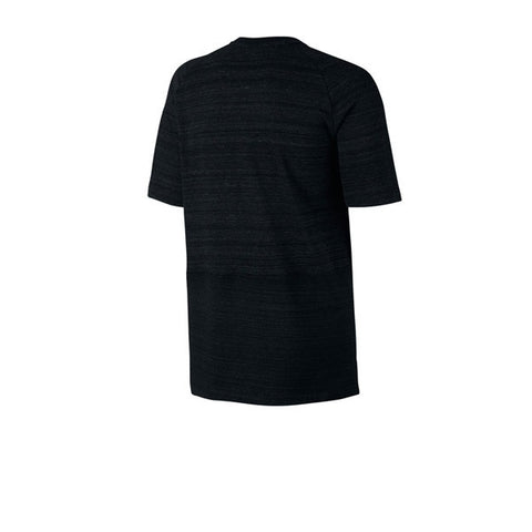 Nike NSW AV15 Top S/S Knit Black White