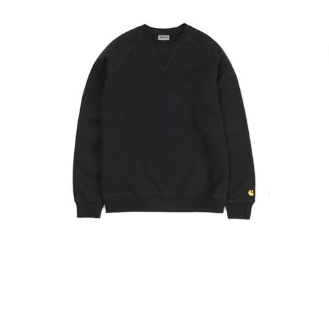 Carhartt Chase Sweat Black Gold
