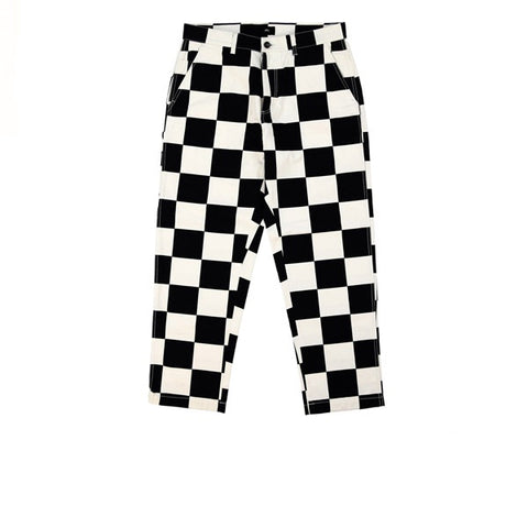 Obey Hard Work Labor Pant Checker