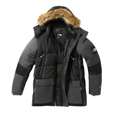 The North Face Vostok Parka Asphalt Grey Black