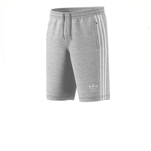 Adidas 3-Stripes Short Grey Heather