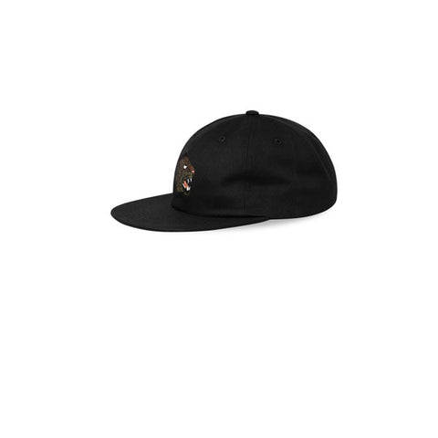 Maharishi Leopard 6 Panel Cap Black