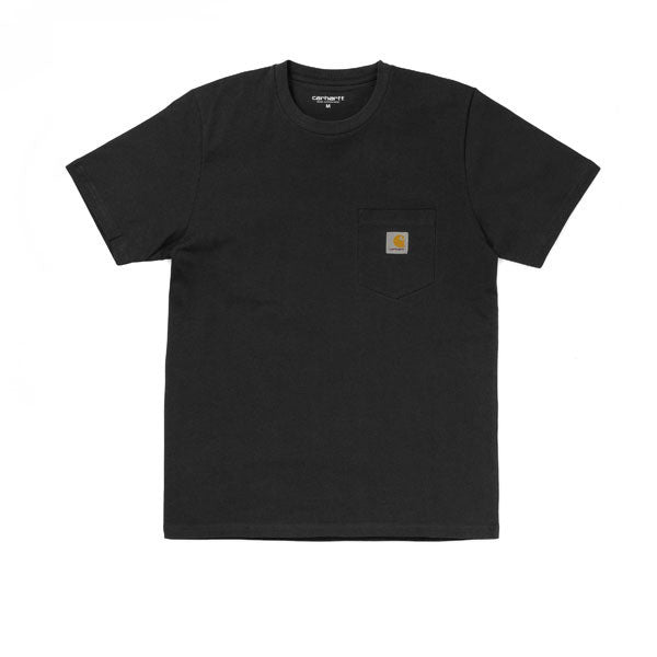 Carhartt S/S Pocket T-Shirt Black - Kong Online - 1