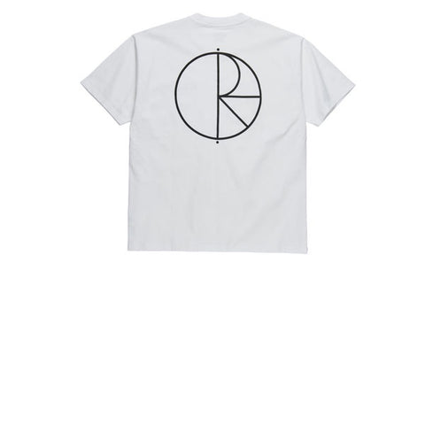 Polar Stroke Logo Tee White Black