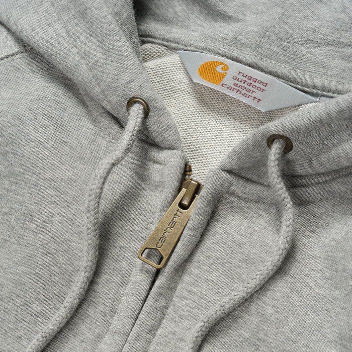 Carhartt Hooded Chase LT Jacket Grey - Kong Online - 2