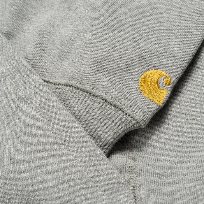 Carhartt Hooded Chase LT Jacket Grey - Kong Online - 3