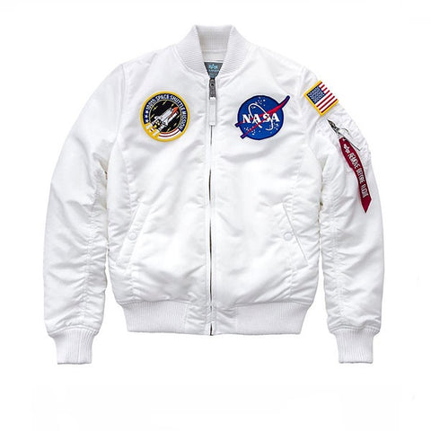 Alpha Industries MA-1 VF NASA White