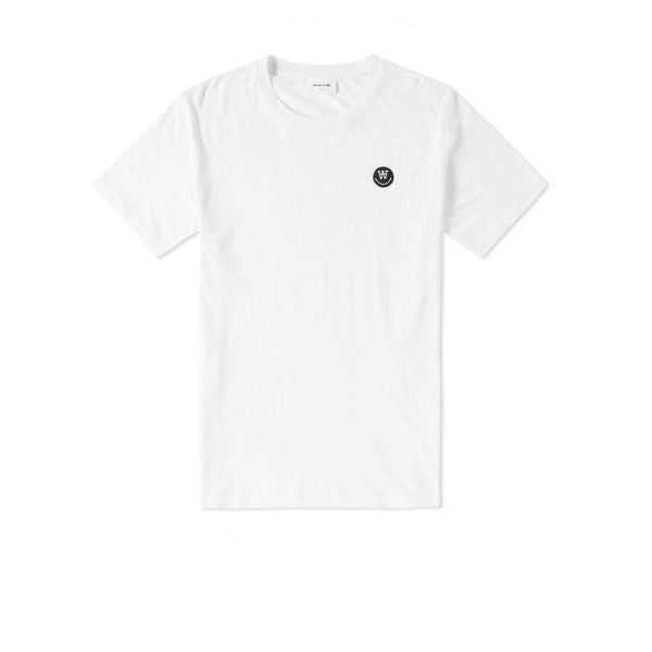 WOOD WOOD Slater T-Shirt Bright White - Kong Online - 1