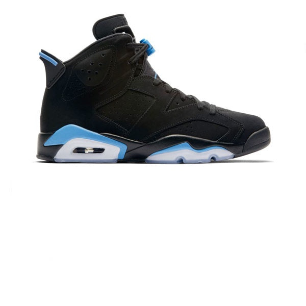 Air Jordan 6 Retro Black Universtiy Blue