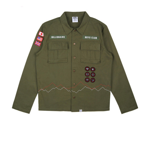 BBC Scout Shirt Olive - Kong Online - 1